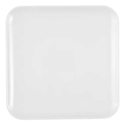 No Limits Platte eckig 24 cm x 24 cm weiß