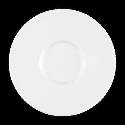 No Limits Kombi-Untertasse 17,5 cm weiß