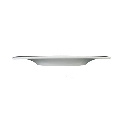 Savoy Teller flach eckig 22,5 cm weiß