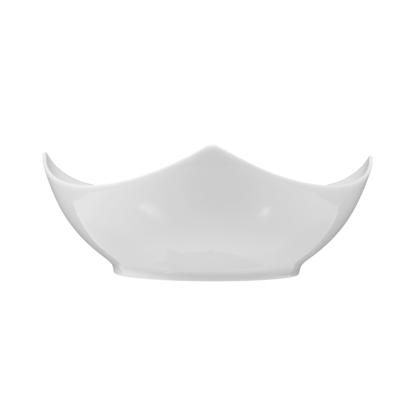 Savoy Schale eckig 17,5 cm weiß