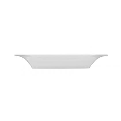 Savoy Platte eckig 16x12 cm weiß