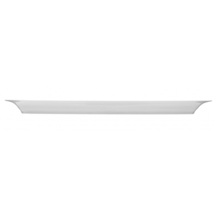 Savoy Platte eckig 36x14 cm weiß