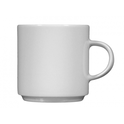 Savoy Milchkaffeetasse weiß