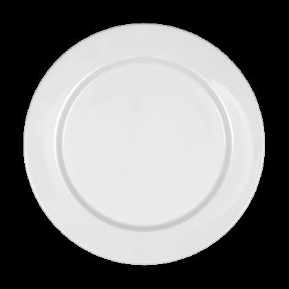 Mandarin Teller flach rund 28 cm weiß
