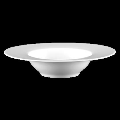 Mandarin Eventteller tief rund 26 cm weiß