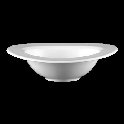 Mandarin Bowl 21 cm Fahne weiß
