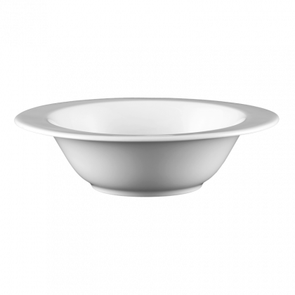 Mandarin Schüssel oval 20 cm weiß