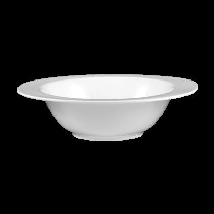 Mandarin Schüssel oval 24 cm weiß