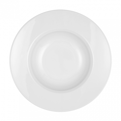 Mandarin Gourmetteller rund 27 cm weiß