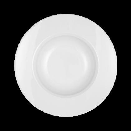 Mandarin Gourmetteller rund 23 cm weiß