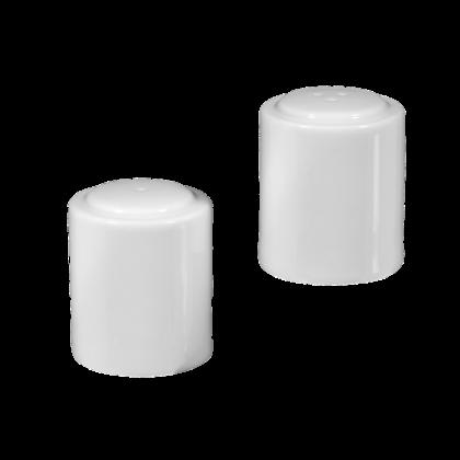Mandarin Garnitur Salz und Pfeffer weiß