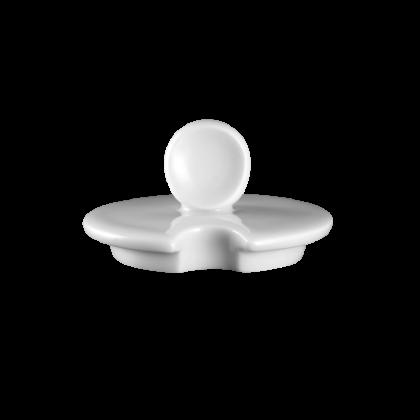 Mandarin Deckel zur Zuckerdose 2 weiß