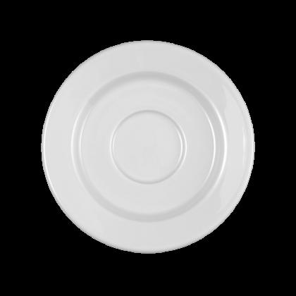 Mandarin Untertasse zur Moccatasse rund weiß