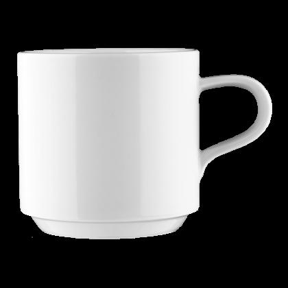Mandarin Kaffeetasse 1 weiß
