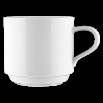 Mandarin Milchkaffeetasse weiß