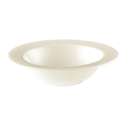 Diamant Schüssel rund 18 cm cream