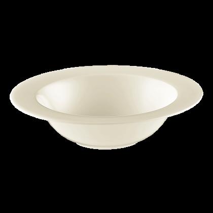Diamant Schüssel rund 23 cm cream