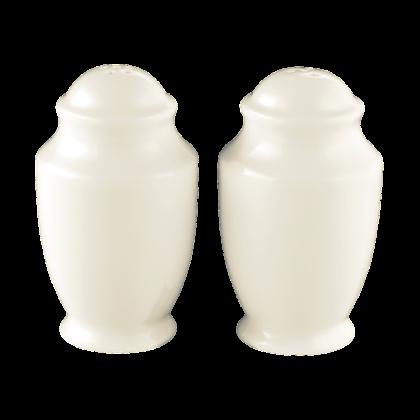 Diamant Garnitur Salz und Pfeffer cream