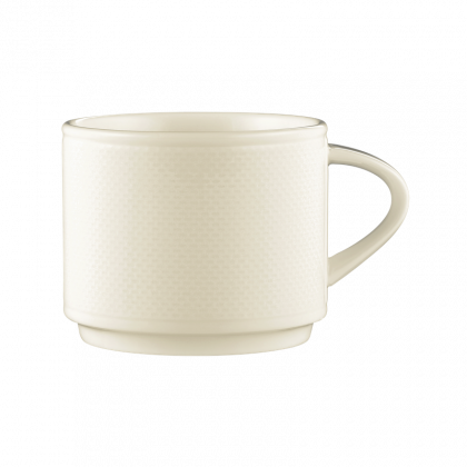 Diamant  Kaffeetasse 2 cream