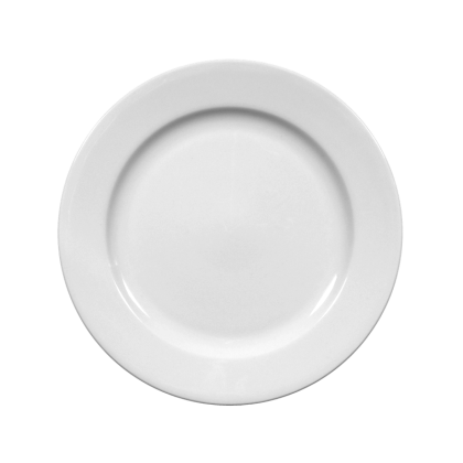 Meran Teller flach 17 cm weiß