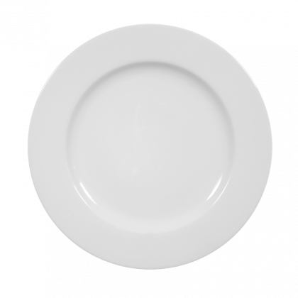 Meran Teller flach 26 cm weiß