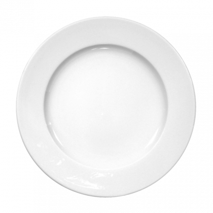 Meran Teller flach 28 cm weiß