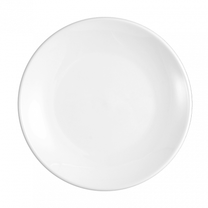 Meran Teller flach rund 5208 21,5 cm weiß