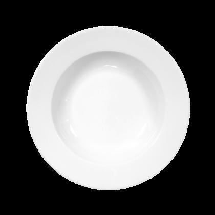 Meran Teller tief 23 cm weiß