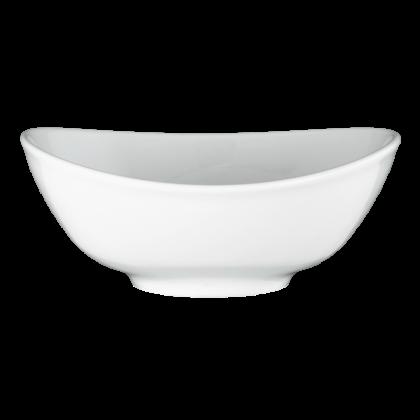 Meran Suppen-Bowl oval 5238 16 cm weiß