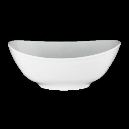 Meran Schüssel oval 5239 21 cm weiß