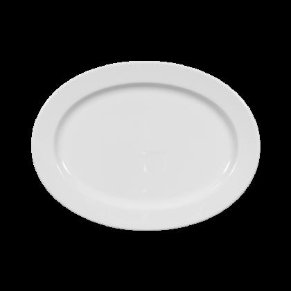 Meran Platte oval 28 cm weiß
