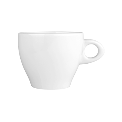 Meran Cappuccinotasse Organic 0,28 l weiß