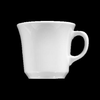 Meran Cafeteriatasse 0,23 l weiß