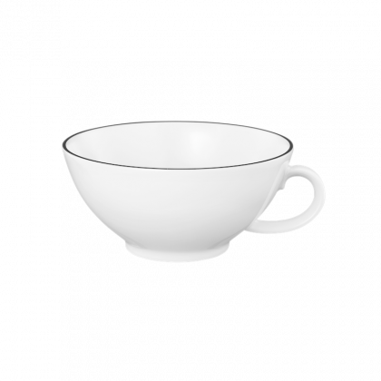Lido Teetasse 0,14 l Black Line