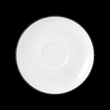 Lido Untertasse zur Kaffeetasse 14,5 cm Black Line