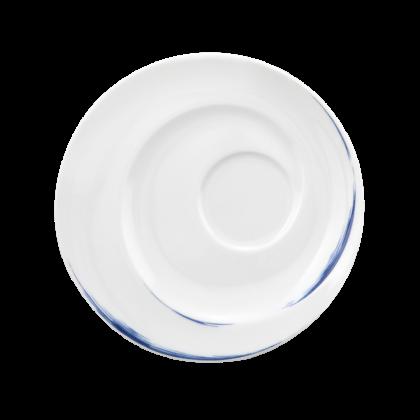 Paso Kombi-Untertasse rund 17 cm Blue Brush