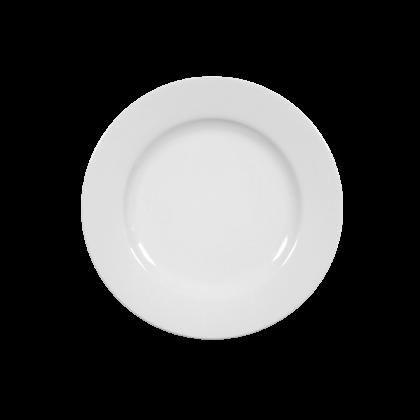 Rondo Brotteller 17 cm weiß