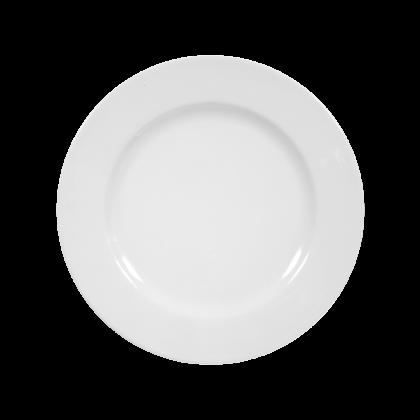 Rondo Speiseteller 25 cm weiß (2. Wahl)
