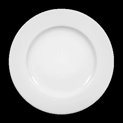 Rondo Teller flach 30 cm weiß
