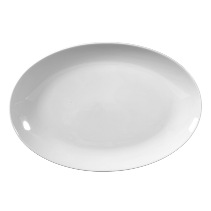 Rondo / Liane Platte oval 31 cm weiß