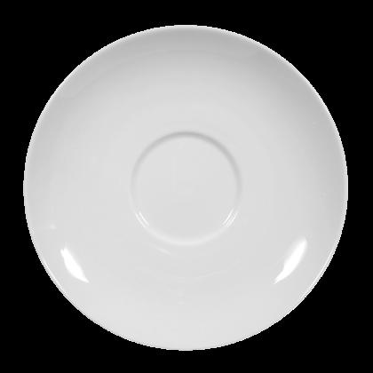 Rondo Untertasse zur Frühstückstasse 16 cm weiß (2. Wahl)