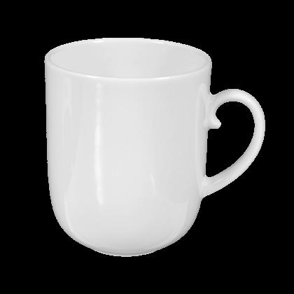 Rondo Becher mit Henkel 0,25 l weiß (2. Wahl)