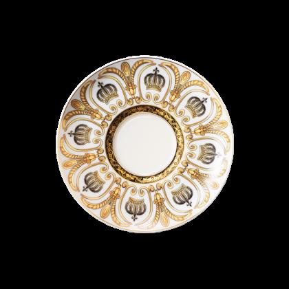 Rondo / Liane Milchkaffeeuntertasse 16 cm Pompöös white