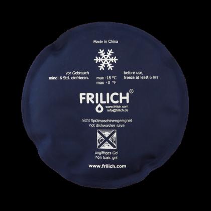 Buffet-Gourmet Frilich Kühlkissen UNISON rund, blau weiß