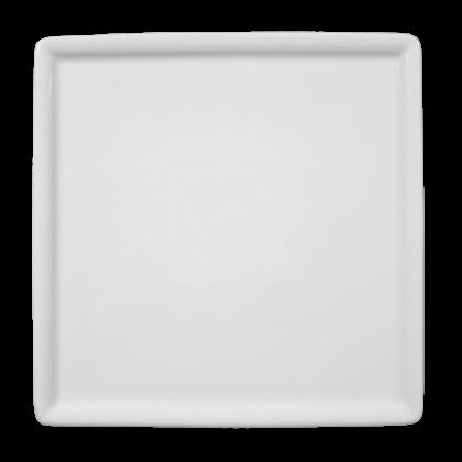 Buffet-Gourmet Platte 5170 20x20 cm weiß