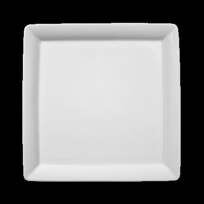 Buffet-Gourmet Platte 5140 25x25 cm weiß