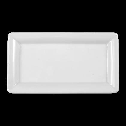Buffet-Gourmet Platte 5140 25x14 cm weiß