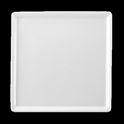 Buffet-Gourmet Platte 5170 23x23 cm weiß