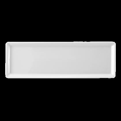Buffet-Gourmet Platte 5170 32,5x10,8 cm weiß