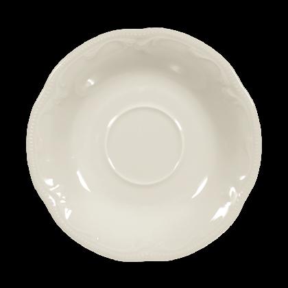 Rubin Untertasse zur Teetasse 13 cm cream